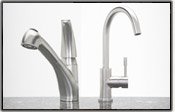 Stainless Steel Faucets for Solid Surface Countertops