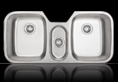 Sienna Tarzetto™ - Triple Bowl Undermount Sink